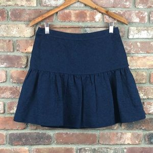 J. Crew Fit & Flare Mini Skirt EUC